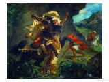 Tiger Hunt  1854