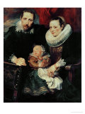 Family Portrait  Around 1621