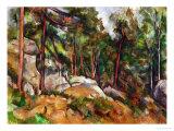 The Rocks in the Park of the Chateau Noir, 1898-1899 Giclée par Paul Cézanne
