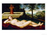 Reclining Water-Nymph