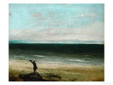 Palavas or the Artist by the Sea  1854