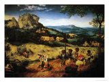 Hay Making  the Hay Harvest from the Series of Six Paintings The Seasons