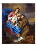 Virgin and Child with Saint Anthony of Padua  1630-1632