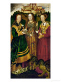 St Catherine's Altar  Triptych on Lime Wood (1506)  Right Panel