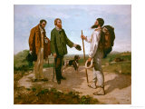 The Encounter (Bonjour M Courbet)  1854
