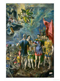 The Martyrdom of Saint Mauritius  1580-1582