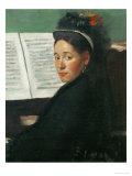 Mlle  Dihau at the Piano  circa 1869-72