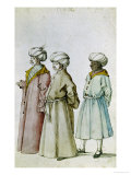Study of Turkish Costumes