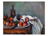 Still Life with Onions  1895