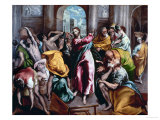 Christ Driving the Moneylenders from the Temple  1600