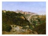 Volterra  Italy  1834