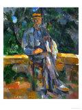 Seated Man, 1905-1906 Giclée par Paul Cézanne