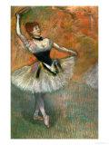 Dancer with Tambourine, Around 1882 Giclée par Edgar Degas