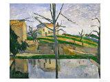 Le Bassin Du Jas De Bouffan  1878