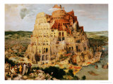 The Tower of Babel, 1563 Giclée par Pieter Bruegel The Elder