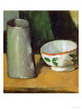 Milk Bowl and Jug  Around 1880