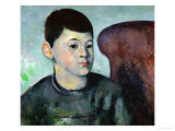 Paul Cezanne  Son of the Artist  1883-1885