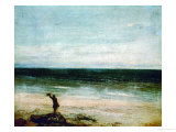 Seaside at Palavas  1854