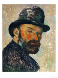 Self-Portrait with Bowler Hat (Sketch)  1885-1886