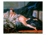 Odalisque  for the Version in the Louvre