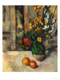 Vase and Apples Giclée par Paul Cézanne