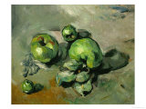 Green Apples  Around 1873