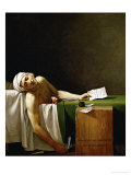Jean Paul Marat  Politician  Dead in His Bathtub  Assassinated by Charlotte Corday in 1793