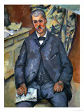 Portrait of a Sitting Man  1898-1900