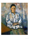 Madame Cezanne Seated  1893/94