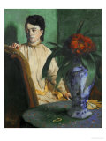 Woman with a Chinese Vase  1872