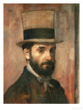 Portrait of Leon Bonnat  1862