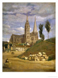 Chartres Cathedral  1830