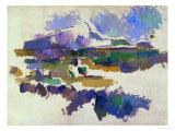 Le Mont Sainte-Victoire, vu de Lauves,1905 Giclée par Paul Cézanne