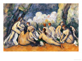 Large Bathers II  1900-1906
