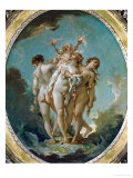 The Three Graces Carrying Amor  God of Love