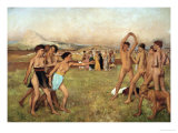 Young Spartans Exercising  Around 1860  Reworked Until 1880