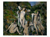 Four Bathers  1888-1890