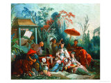 The Chinese Garden  1742