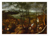 The Dark Day  from the Series The Seasons  1565