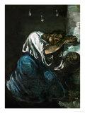 Mary Magdalene or Sorrow  circa 1869