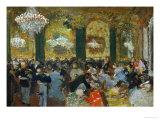 Dinner at the Ball, 1879, after Adolf Von Menzel (1815-1905) Giclée par Edgar Degas