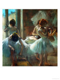 Dancers at Rest, 1884-1885 Giclée par Edgar Degas