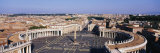 St Peter's Square  Vatican City  Rome  Italy