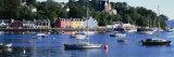 Boats Docked at a Harbor  Tobermory  Isle of Mull  Scotland