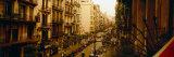 Buildings in a Row  Catalonia  Barcelona  Spain