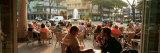 Tourists at a Sidewalk Cafe  Lignano Sabbiadoro  Italy