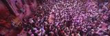 People Celebrating Holi  Braj  Mathura  Uttar Pradesh  India