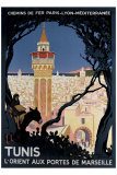 Tunis Giclée par Roger Broders