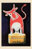 Monsavon au Lait Reproduction d'art par Raymond Savignac