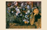 La Femme au Chrysanthemes  1865